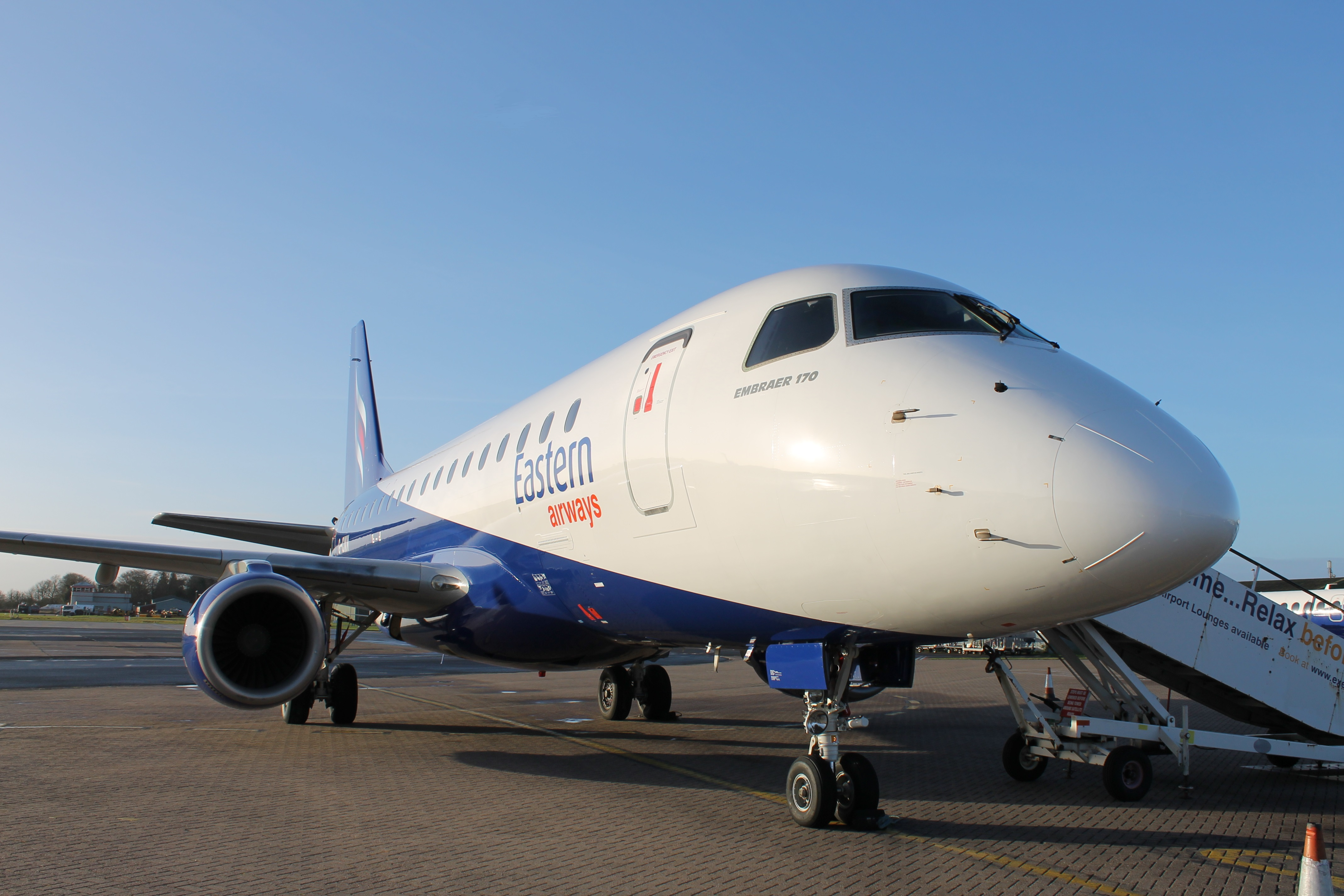 Eastern Airways takes on Southampton route at Belfast City Airport